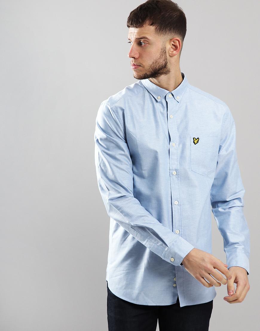 Lyle /& And Scott Dusty Pink Oxford Long Sleeve Shirt New M XL BNWT £55