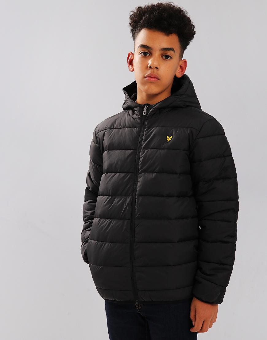 Lyle   Scott Junior Lightweight Puffer Jacket Black - Terraces Menswear ee84b583a8c0